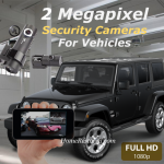 2 Security Camera System for Cars & Trucks (Park & Drive Mode) With Built-In Wi-Fi For Mobile Phone Viewing and Playback – Home Restored