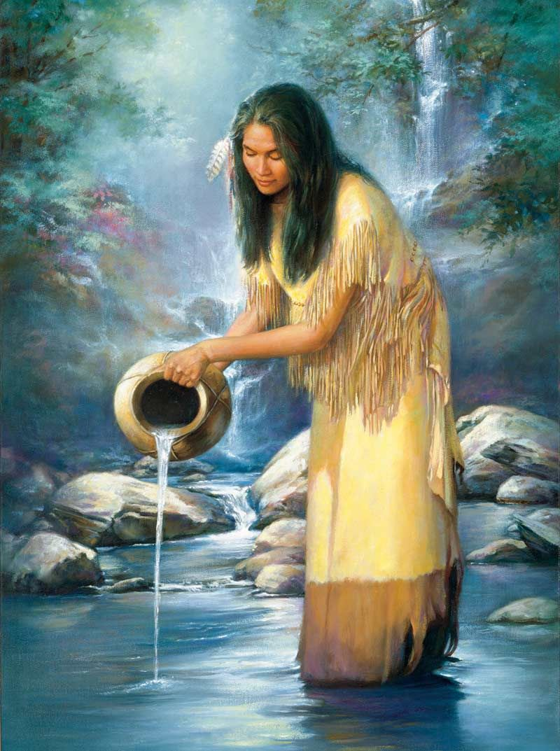 free Native American pictures of waterfalls Google