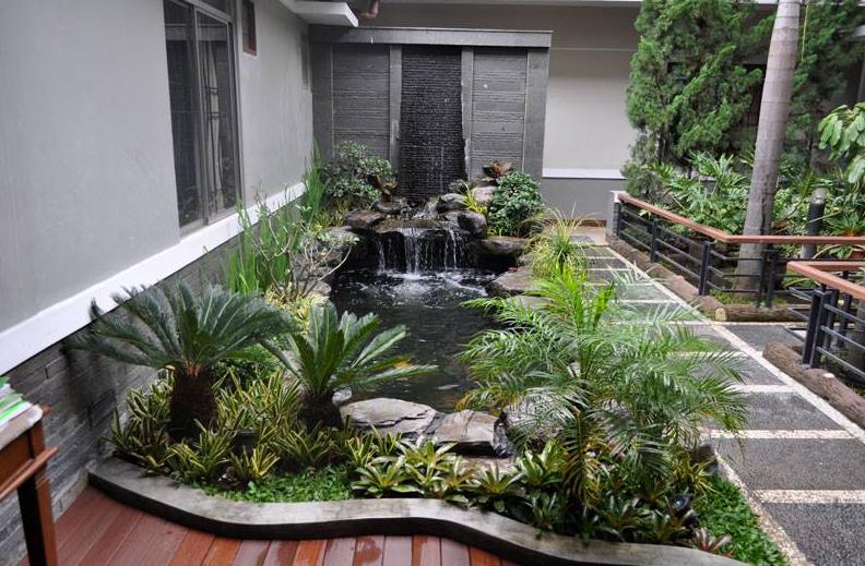 Tips Bikin Rumah Kontraktor Taman Kontraktor Renovasi Biaya Desain Interior Rumah Griya Rumah Minimalis D Kolam Halaman Belakang Kolam Ikan Kolam Ikan Koi