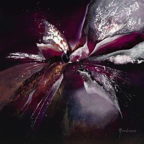 Fleur De Lune II Print by Mondriaux at Art.com