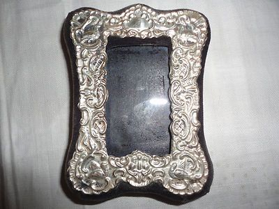 Vintage Sterling Silver English Hallmarked Photo Picture Frame
