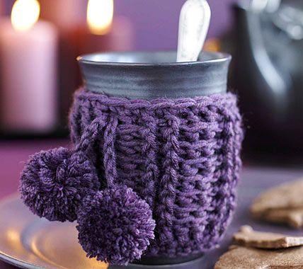herbst deko mit zutaten aus der k che crochetholic hilariafina pinterest die tassen. Black Bedroom Furniture Sets. Home Design Ideas