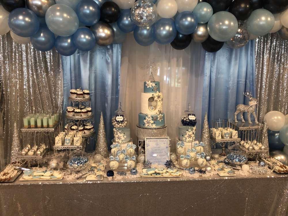 Winter-Märchenland-Babyparty-Party-Ideen | Foto 1 von 22 | Fang meine Party   – baby shower