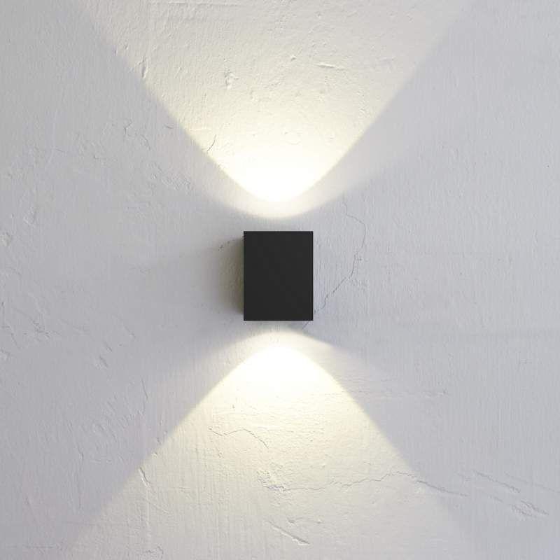 Canto Kubi würfelförmige LED Wandleuchte von Nordlux