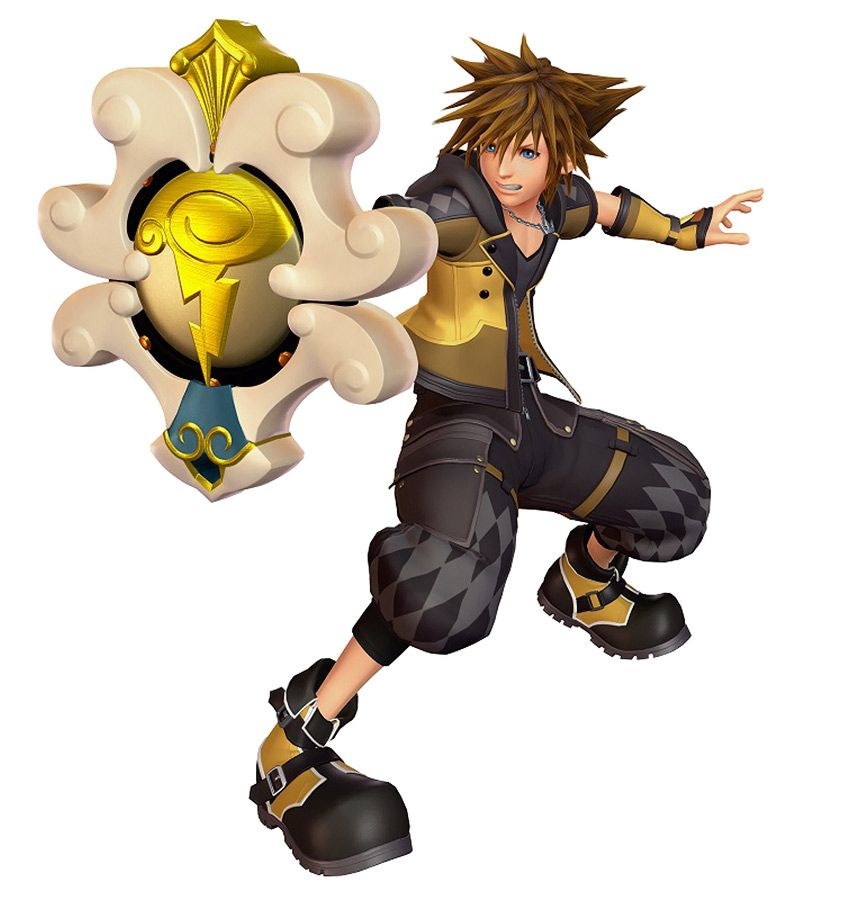 Sora Kingdom Hearts Kingdom Hearts: Sora Guardian Form From Kingdom Hearts III