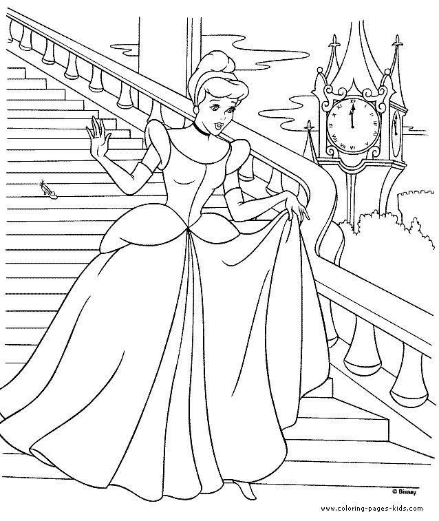 Cinderella Coloring Pages Coloring Pages For Kids Disney Coloring Pages Printable Coloring Pages Color Pages Kid Halaman Mewarnai Buku Mewarnai Warna