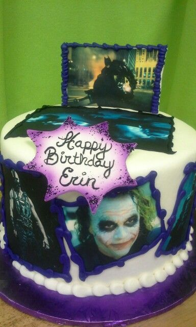 Batman Dark Knight Adult Birthday Cake Pinterest Adult - Dark knight birthday cake