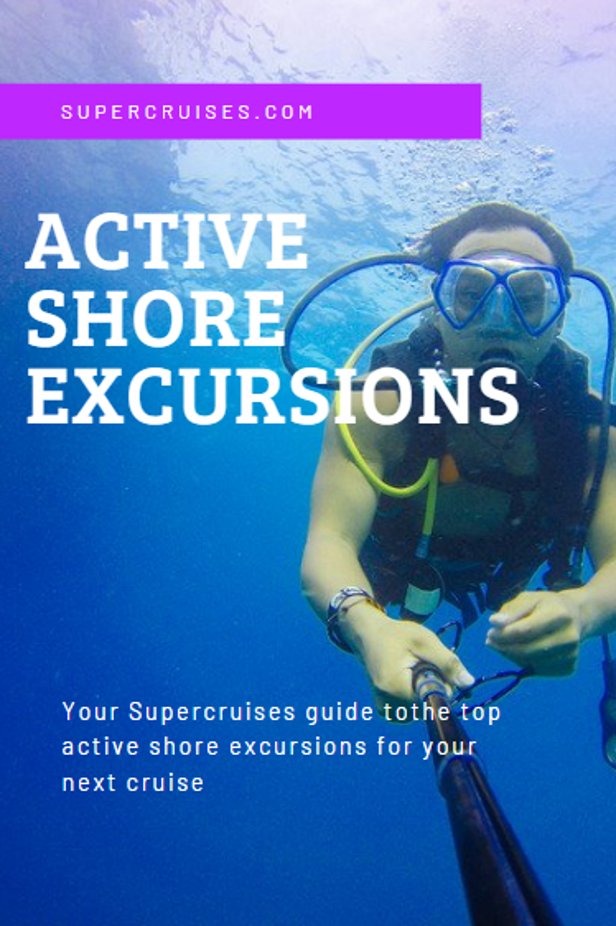 Shore excursions provide the chance to delve deep into the culture of your new location by trying out some of the local activities and past times. Check out Supercruises guide to the top active onshore excursions to book before setting sail.