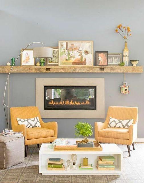 love the wooden shelf