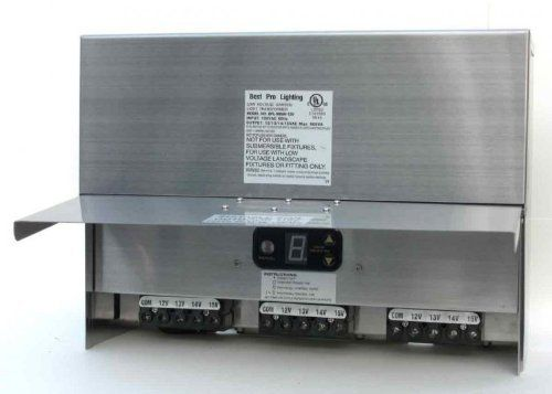 900 Watt Multi Tap Stainless Transformer By Best Pro Lighting 255 95 Heavy Duty