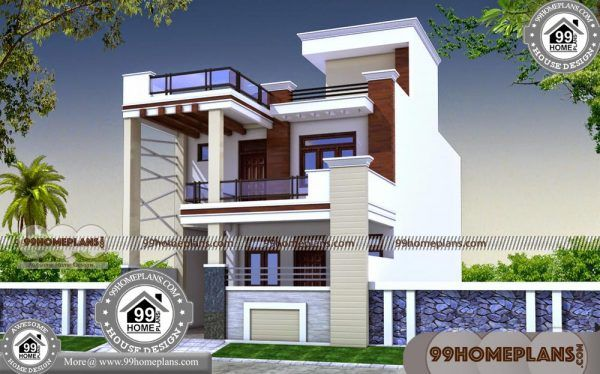 House Plans for Long Narrow Lots 60+ New 2 Storey Home Designs Plans