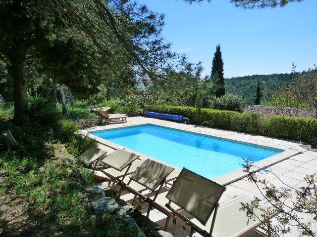 Abritel Location vacances maison Saumane de Vaucluse piscine au sel - location vacances provence avec piscine