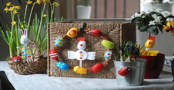 Diese Dekoideen zu Ostern werden die Lieblingsprojekte deiner Kinder sein
