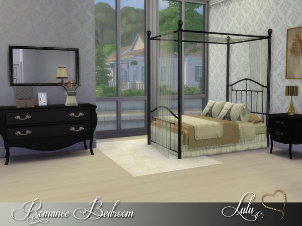 Romance Bedroom By Lulu265 At TSR Via Sims 4 Updates
