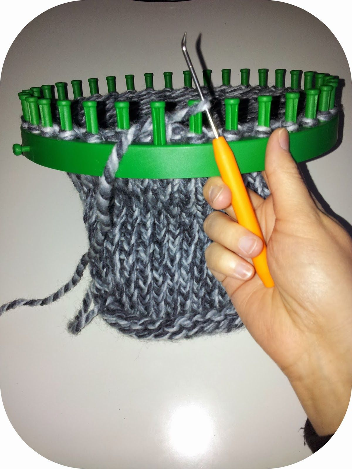 DIY Anleitung Knitting Loom Abstricken  Strickliesel