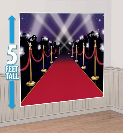 Red Carpet Backdrop Party City 7 99 Winter Dance