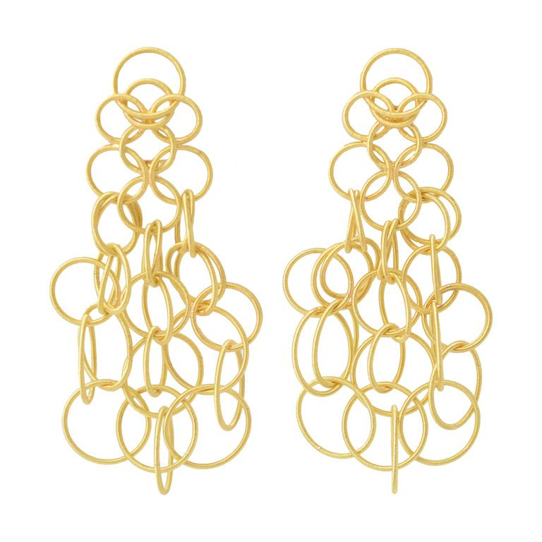 Buccellati Hawaii Gold Earrings From A Unique Collection Of Vintage Dangle At Https 1stdibs Jewelry