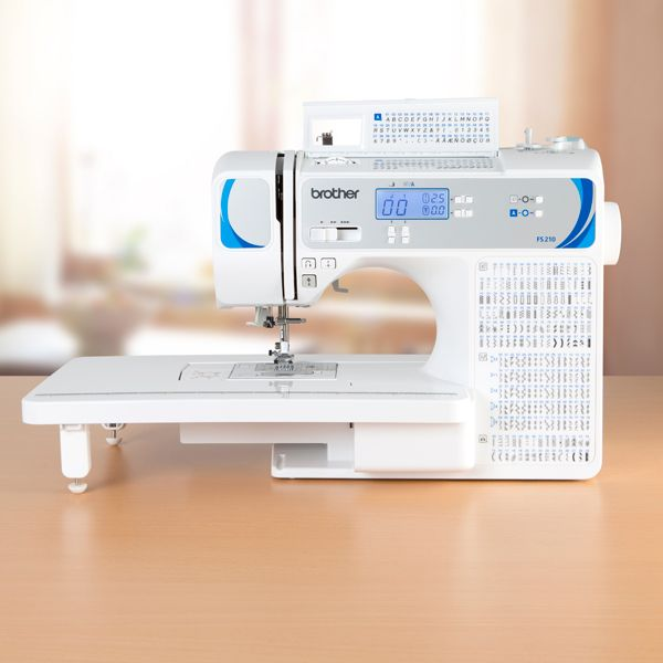 Brother FS210 Sewing Machine with Extension Table and 3 Year