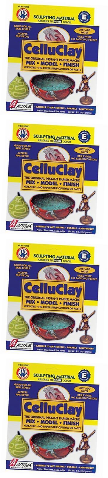 Activa CelluClay Instant Papier Mache 24 Pound White
