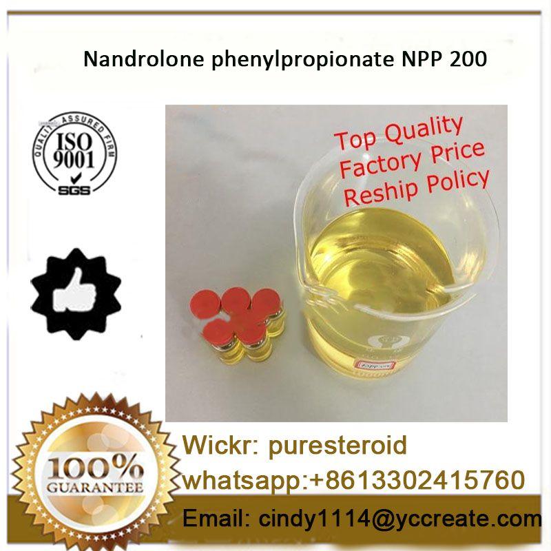 Bodybuilding Supplement Nandrolone Phenypropionate NPP 200mg/ml