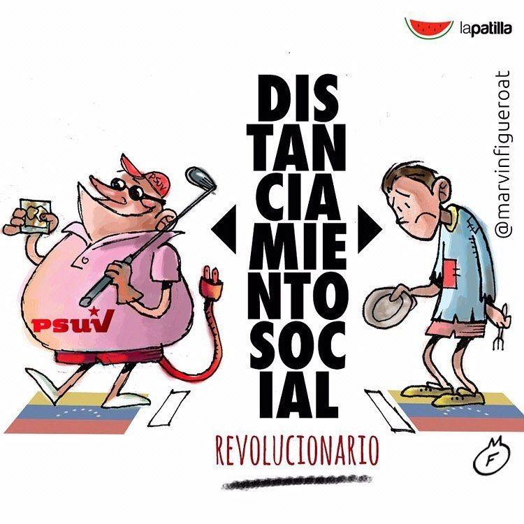 6 580 Me Gusta 191 Comentarios La Patilla La Patilla En Instagram Distanciamiento Social En Venezuela Por Comics Fictional Characters Character