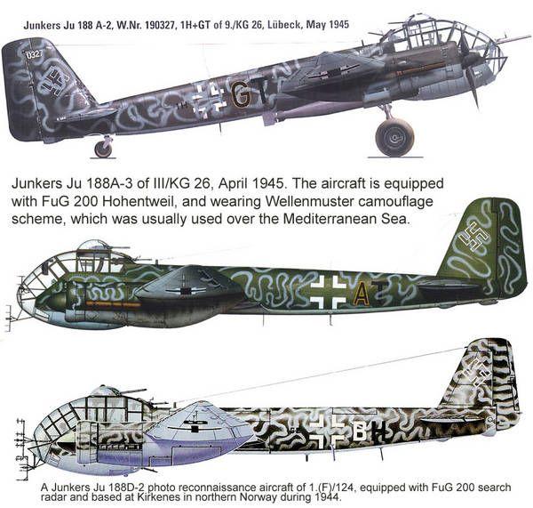 Planes - Junkers Ju-188