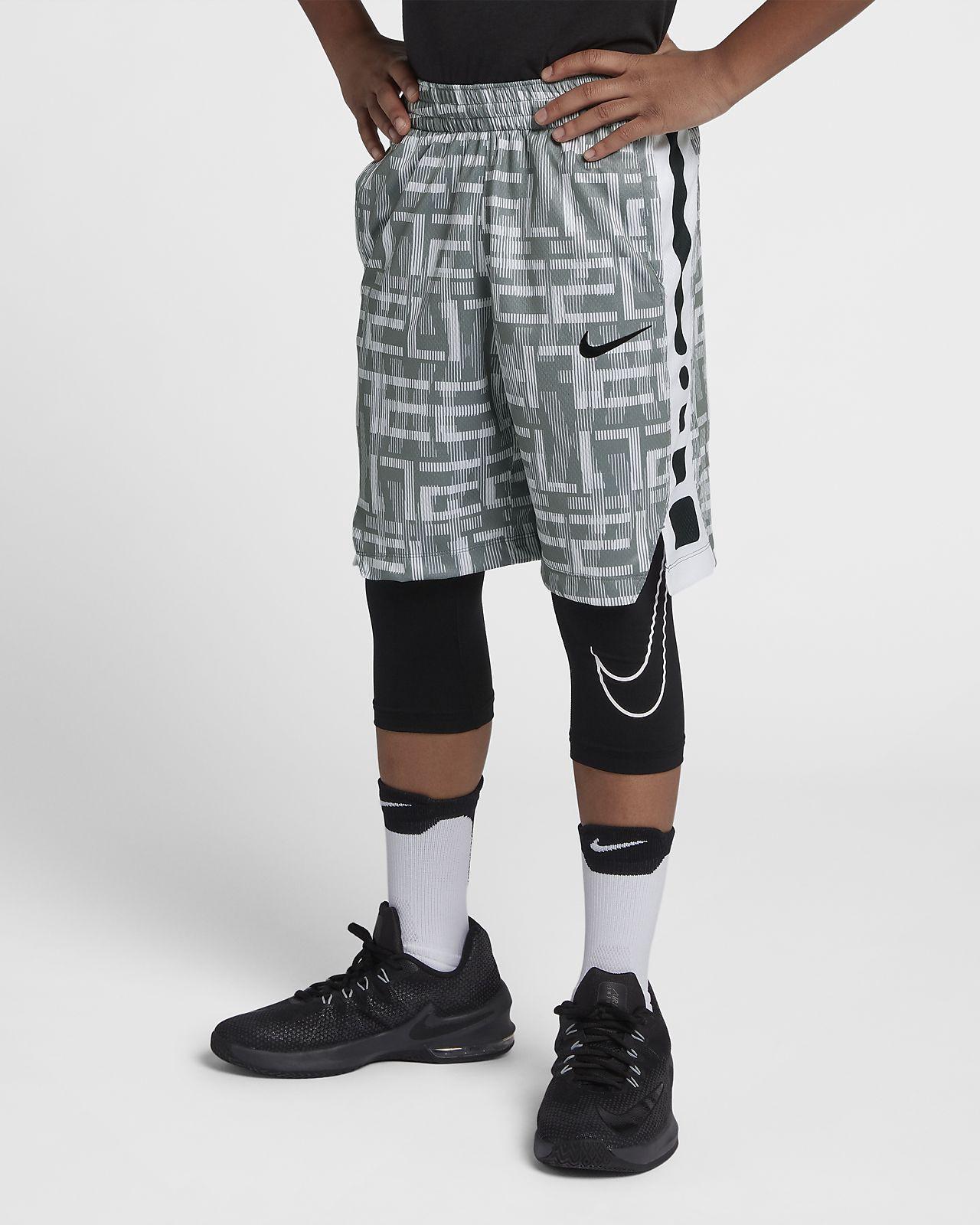 a81f64446904 Nike Elite Big Kids  (Boys ) Printed Basketball Shorts - M (10-12 ...