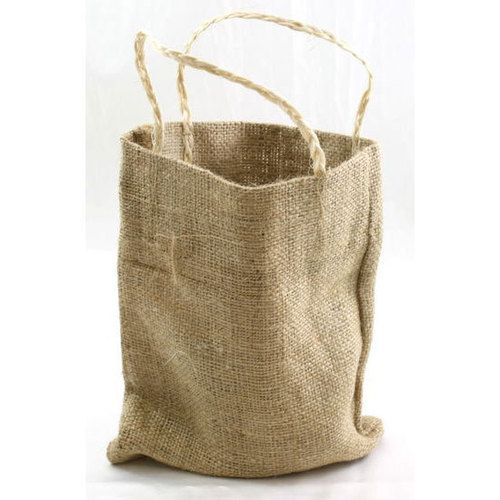 Burlap Bag With Handle 8 X 10 Eco Friendly Natural Favor Bags Ebay