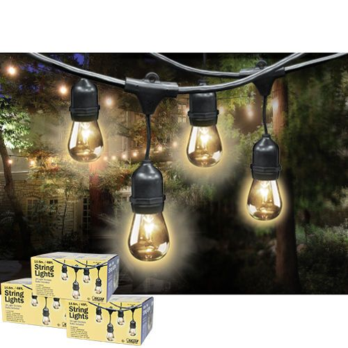 Feit Outdoor Weatherproof String Light Set 48 Ft 24