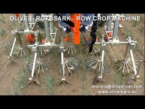 Rotosark Weeding Machine Bineuse Row Crop Hackmaschine Row Crop Weeding The Row