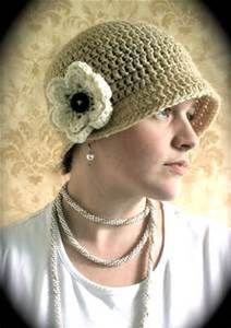 Free Vintage Crochet Patterns Hats Yahoo Image Search Results