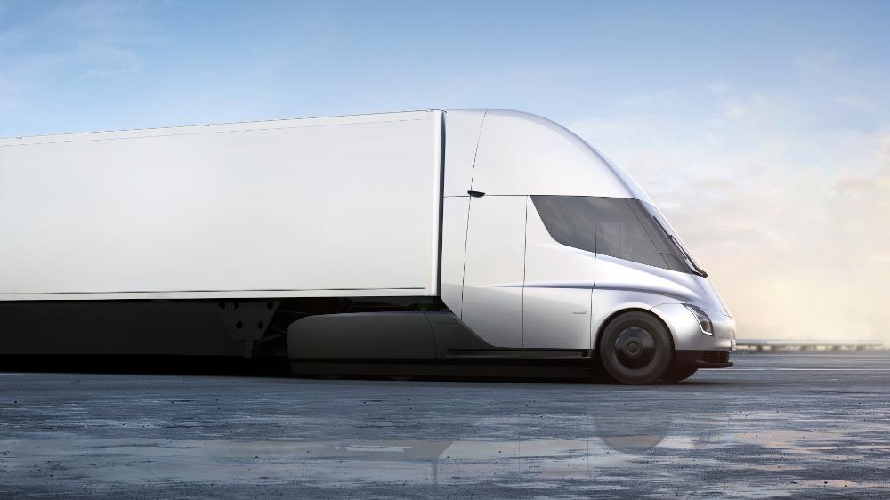 Tesla Pickup Truck Futuristic Design New Features Price And Release Date Electric Truck Semi Trucks Electric Semi Truck