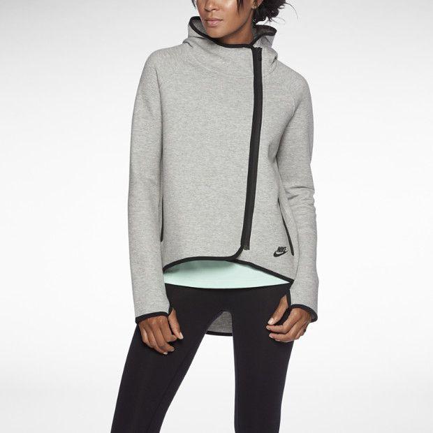 Nike Tech Fleece Cape Women s Hoodie. The perfect all-season sweater.  Essential for running around NYC.  workoutstyle  Nike  fitfashion c6c80e3b9e