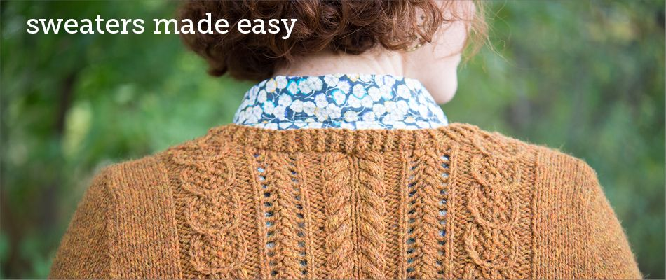 Design your own sweater online with CustomFit pattern ...
