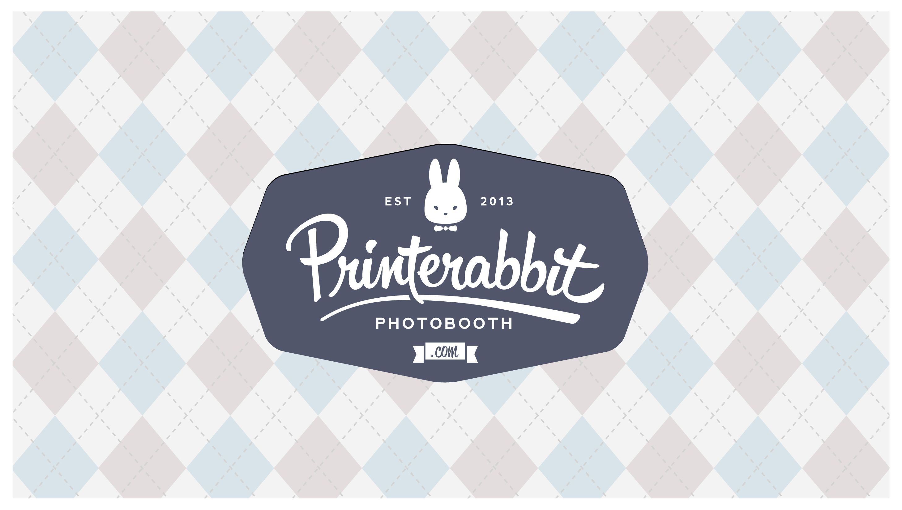 Printerabbit photobooth Logo design by DessyOngkowidjaja