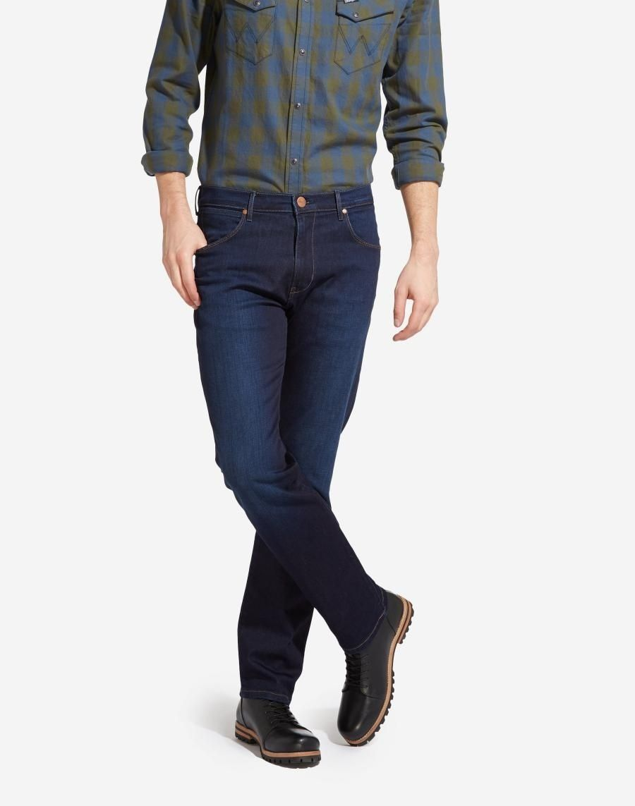8bf02e059d3 Wrangler pánské džíny Arizona W12OMU91O Modrá W40 L32  chci