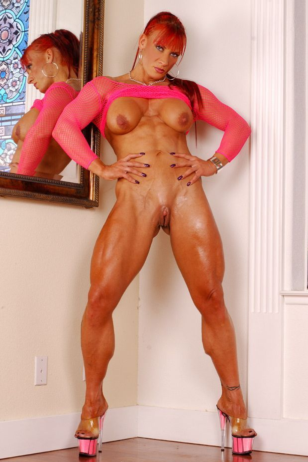 porn muscle bodybuilder Female