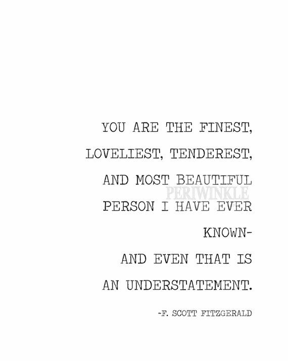 F. Scott Fitzgerald quote printable-diy instant download printable-mulitiple sizes included
