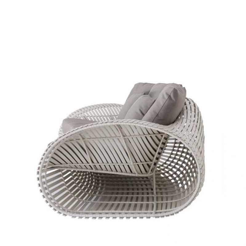 Loungesessel Lolah (whitewash) von Kenneth Cobonpue Modern - designer gartenmobel kenneth cobonpue