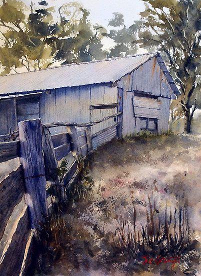 Joe Cartwright - Old Shearing Shed