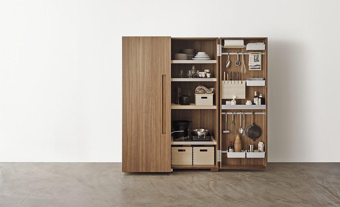 bulthaup b2 transforme la cuisine en un atelier de travail offrant
