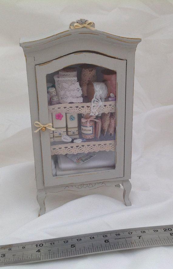 Dolls House Miniatures Haberdashery / por LittleHouseAtPriory