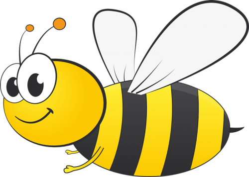 Bee Png Clipart 16 Image Vector Eps Free Download Logo Icons Clipart Cartoon Bee Bee Images Bee Drawing