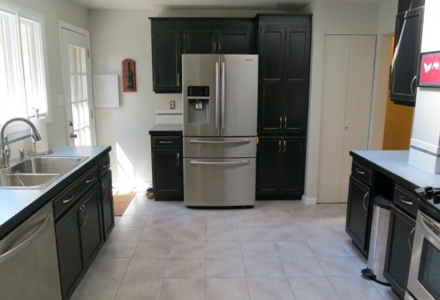 Remodeling Ideas. Dark cabinets are making a resurgence ...