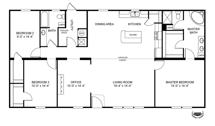 Manufactured Homes Modular Homes Mobile Homes Clayton Homes Mobile Home Floor Plans New House Plans House Floor Plans