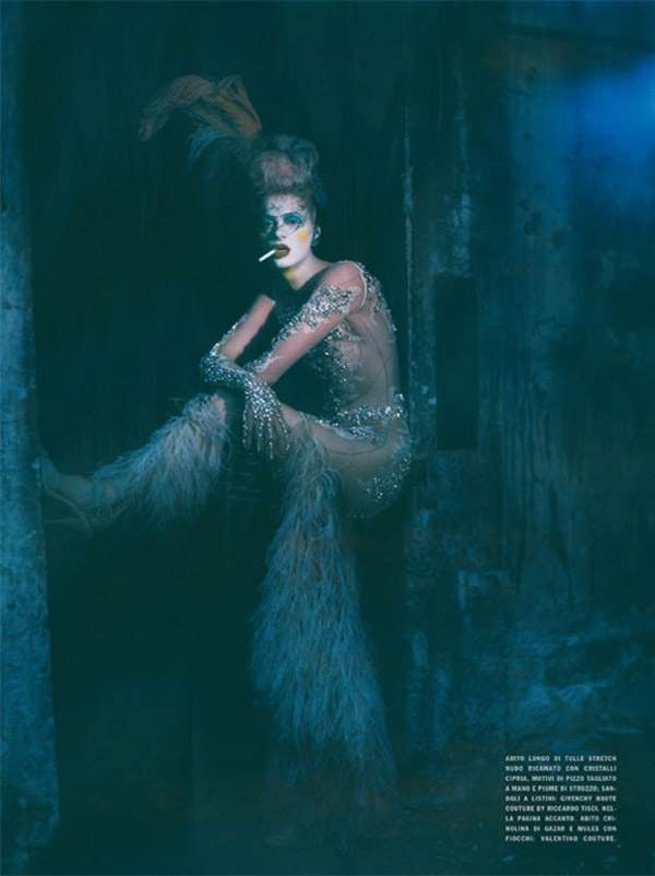 #TheatricalTuesday @vogue_italia September 2010 shot by #PaoloRoversi with #KristenMcMenamy