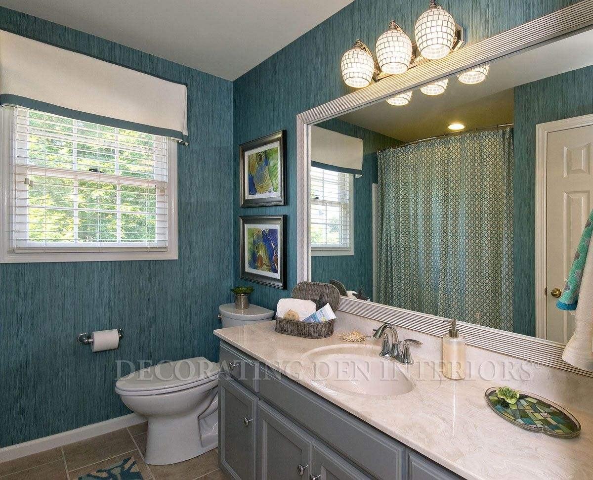 2016 Wallpaper Installation Cost Average Wallpaper Prices How To Install Wallpaper Blue Window Treatments Dream Room