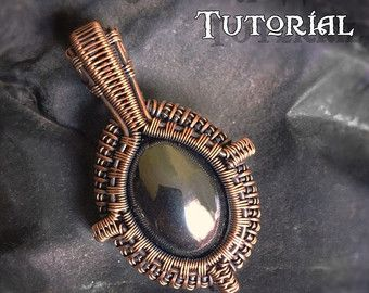 TUTORIAL - Yggdrasil Pendant - Wire Wrapping - Jewelry Pattern ...