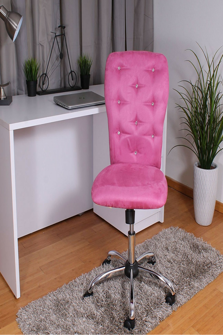 Cute Pink Office Chair For The Woman Girlboss Home Decor Office