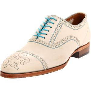 Shoes for offbeat grooms, groomsmen, bridesboys, and lovers of fancy men's footwear (John Fluevog Men's Brandenburg NL Oxford)